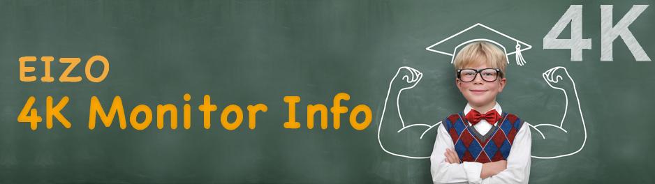 EIZO 4K Monitor Info